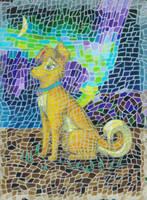 Jennify and the Aurora by magnifulouschicken