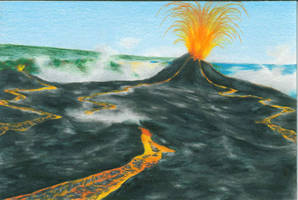 Amazing Volcano by magnifulouschicken