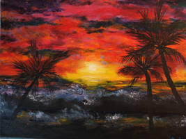Hawaiian Sunset by magnifulouschicken
