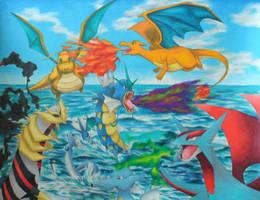 Dragon Pokemon Jamboree by magnifulouschicken