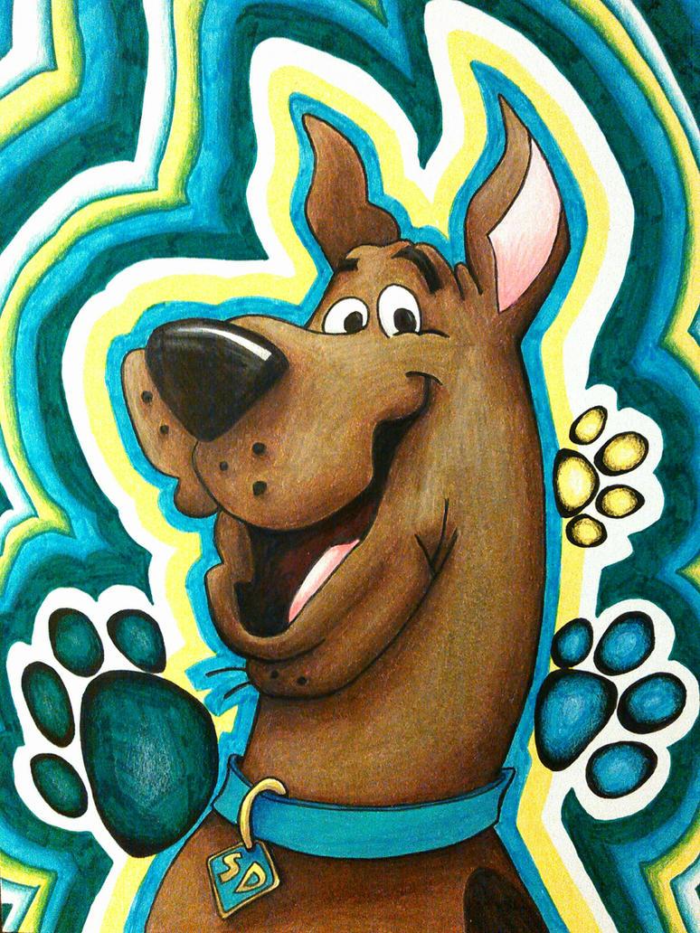 Scooby-Dooby-Doo by magnifulouschicken