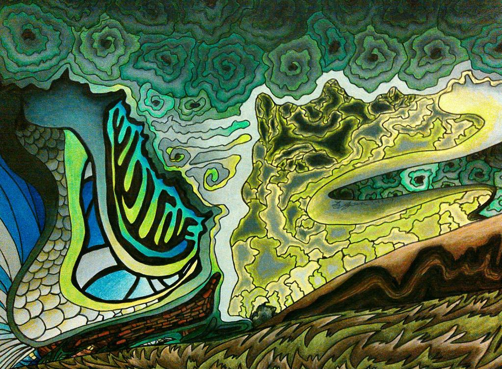Green Tornado by magnifulouschicken