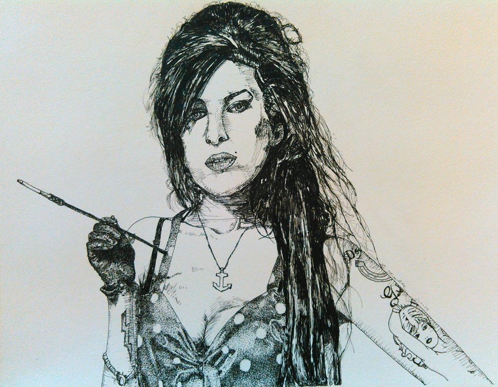 Amy Winehouse by magnifulouschicken