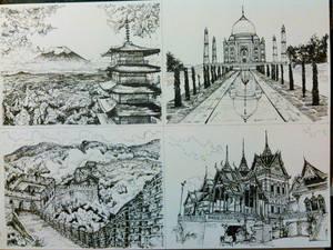 Four Countries- Asia