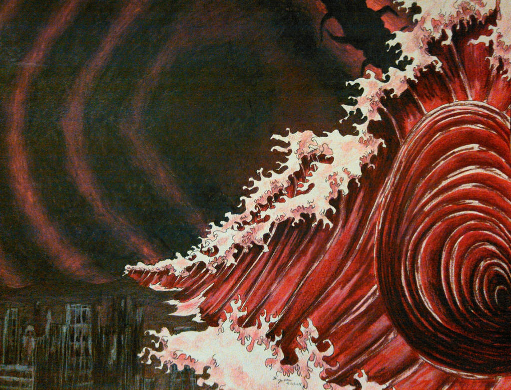 Blood Tsunami by magnifulouschicken