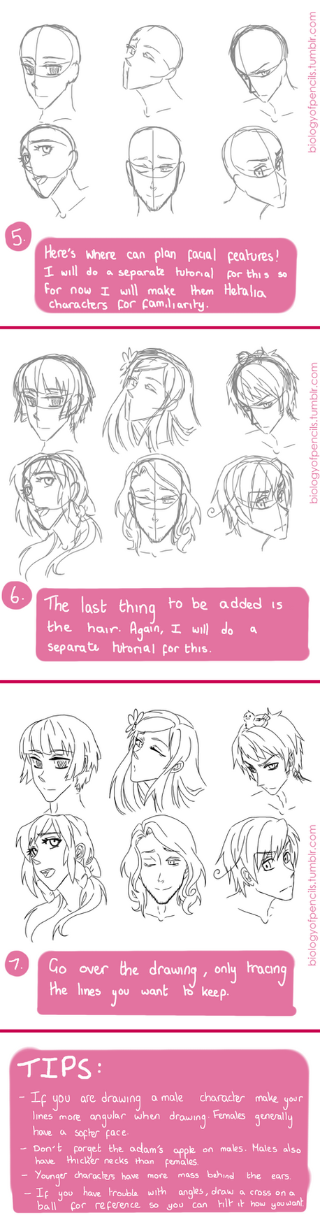 Head Tutorial Part 2 by Biology-of-Pencils