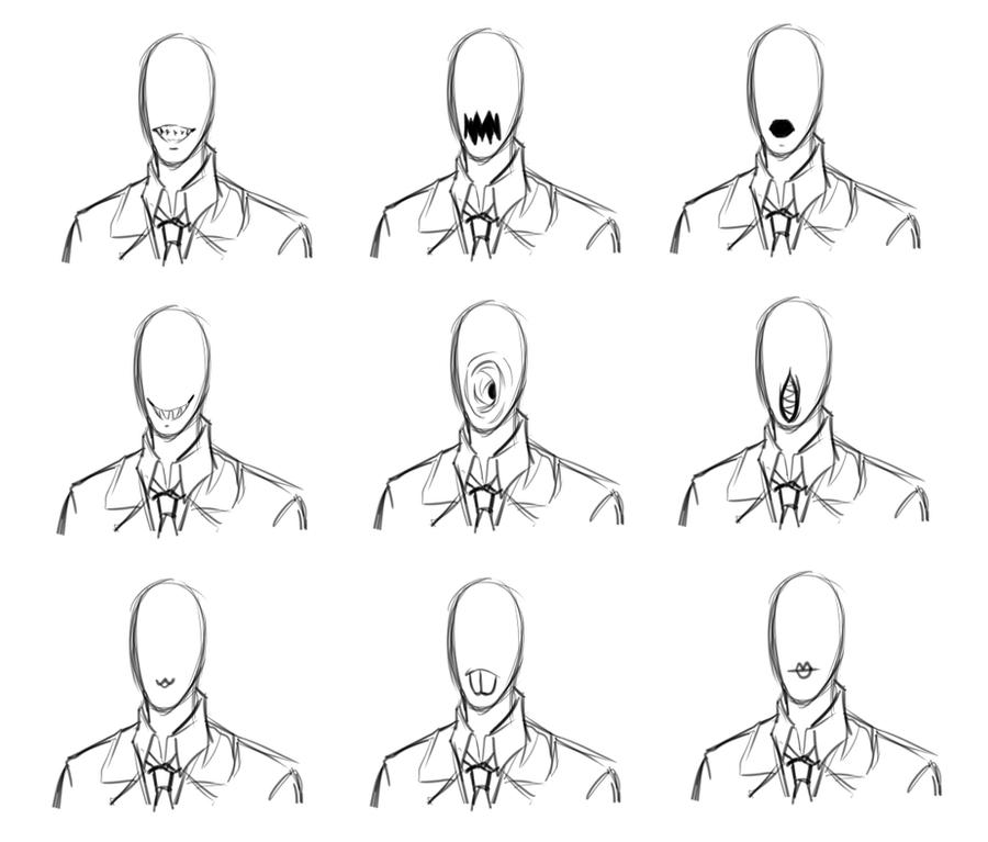 Slender mouth types by jessaraeisawesome on DeviantArt