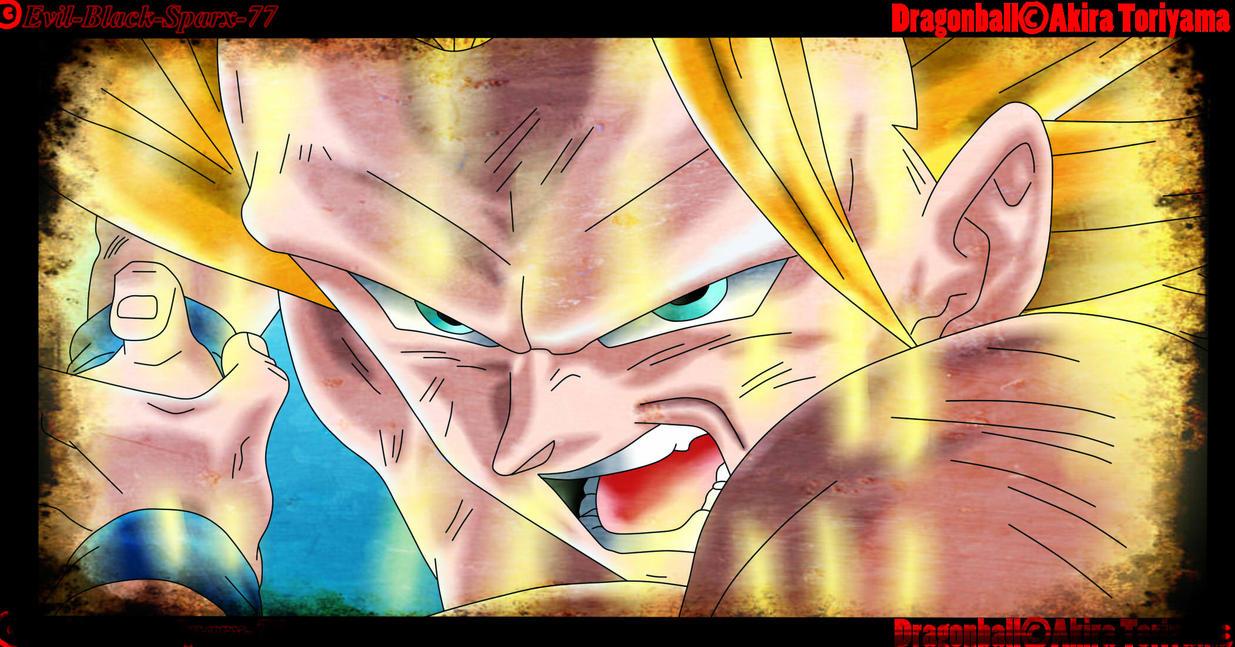 Goku wallpaper with anime called ssj3 goku