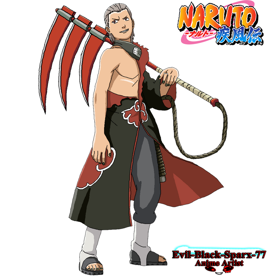 Hidan by Evil-Black-Sparx-77