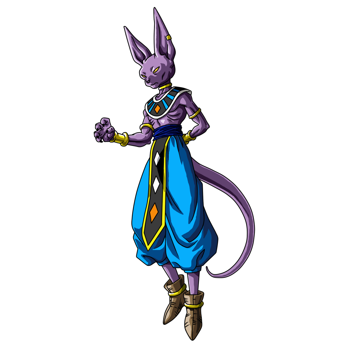 Beerus Vs. New 52 Superman  Beerus__revival_of_f__render_by_evil_black_sparx_77-d87i2l5