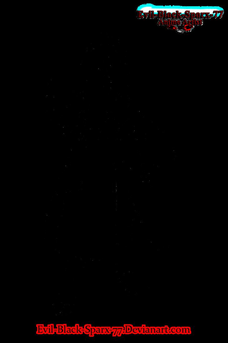 Itachi Uchiha lineart 02 by Evil-Black-Sparx-77