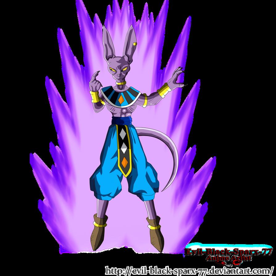 Lord Beerus God Of Destruction Blocking by Evil-Black-Sparx-77