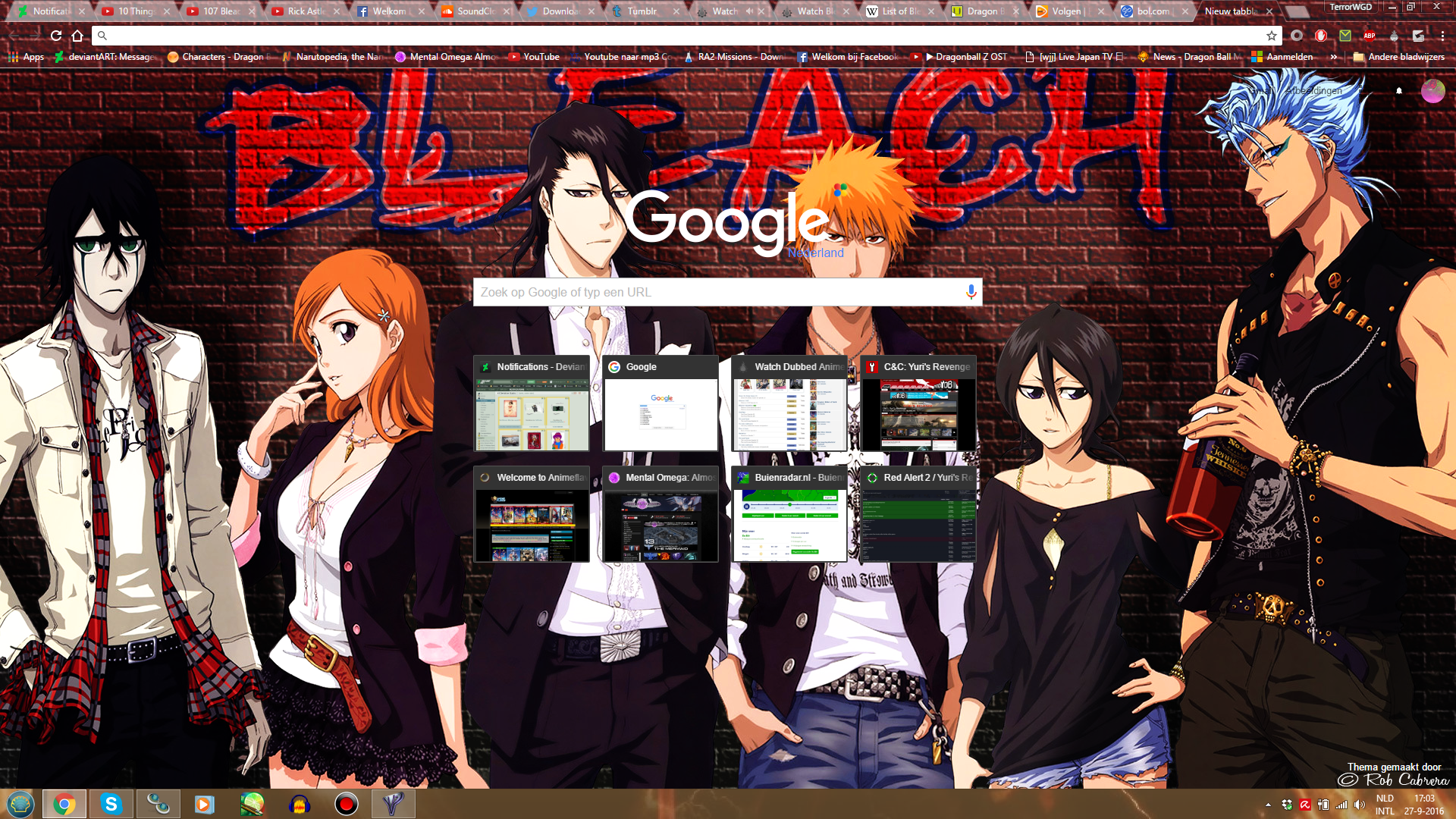 Google themes bleach -  Bleach Chrome Theme By Evil Black Sparx 77