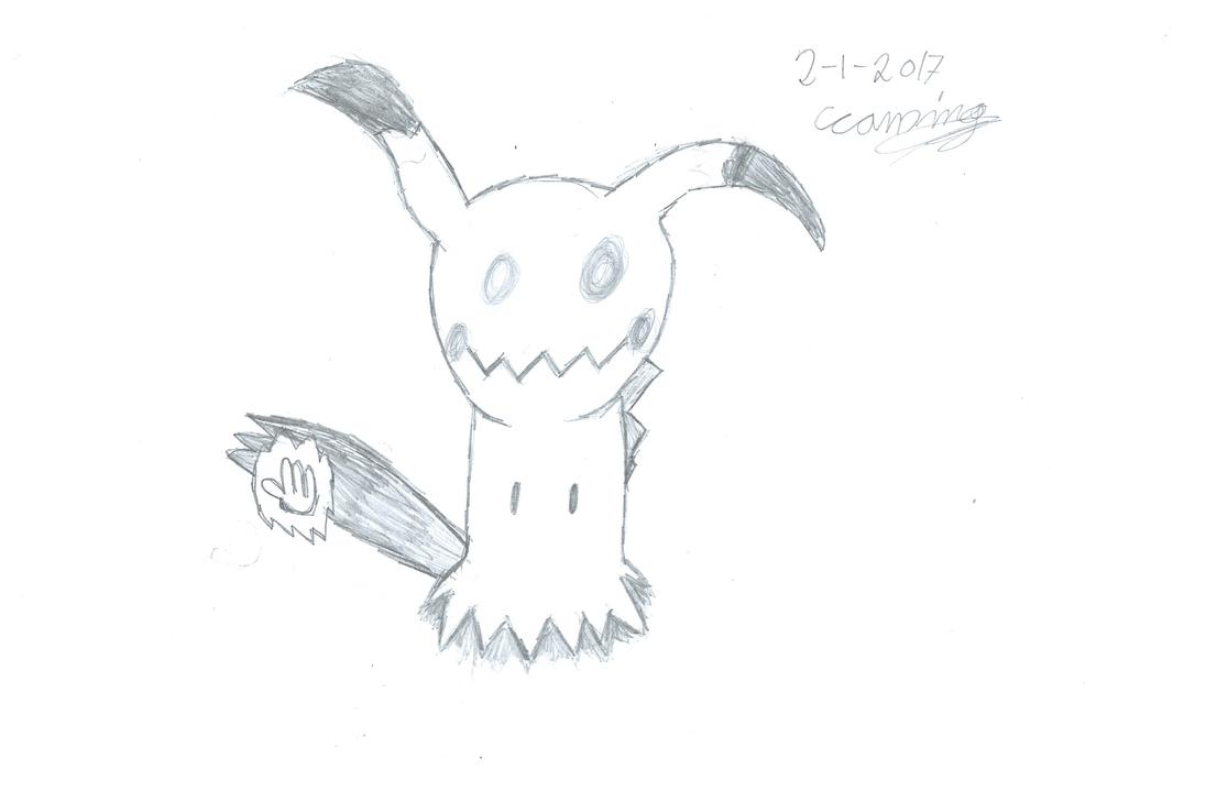 Line Art Of Sun : Pokemon sun moon: mimikyu high five by evil black sparx 77 on