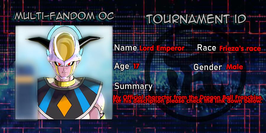 Multi-fandom oc Tournament ID - Lord Emperor by Evil-Black-Sparx-77
