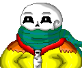 Thunder Sans Pixel icon by Evil-Black-Sparx-77