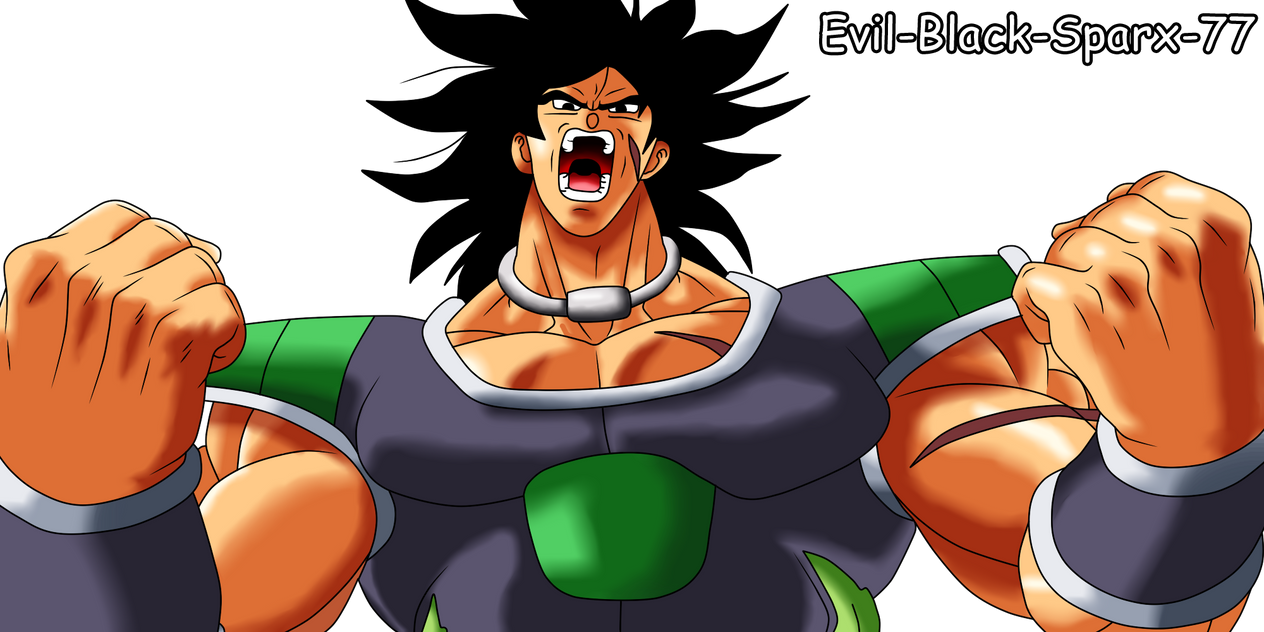 Dragon Ball Super - Broly by Evil-Black-Sparx-77