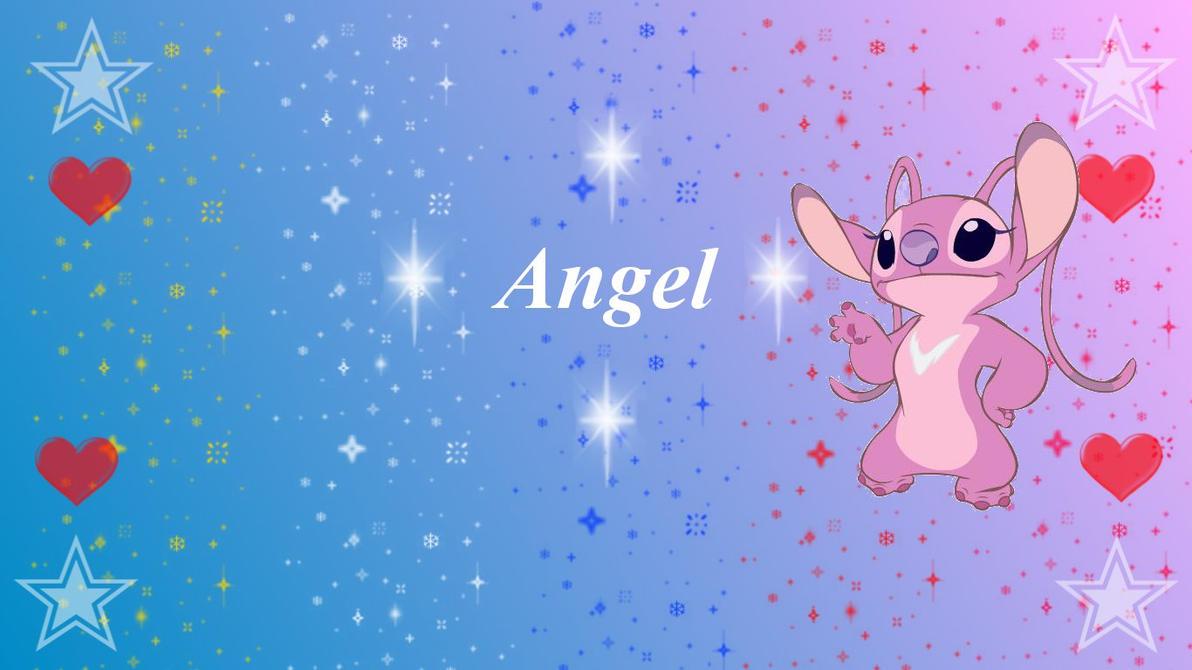 Angel Wallpaper By TzortzinaErk On DeviantArt Cute Stitch And