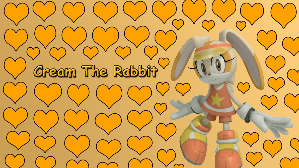 Cream The Rabbit Wallpaper by TzortzinaErk