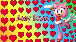 Amy Rose Wallpaper