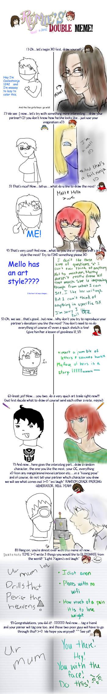 Double Meme with Ninja Coco by CoolestNinja1242 on DeviantArt