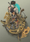 Clockwork Hearts Hatsune Miku