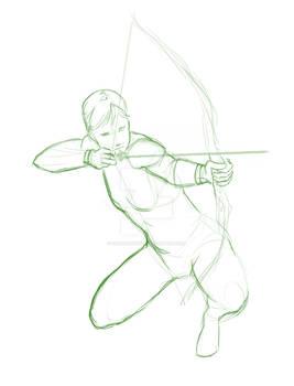 Warmup Sketch - Archetype_Archer