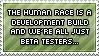 Human Race Stamp