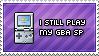 GBA SP Player by Nironan12
