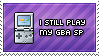 GBA SP Player by Nironan12