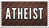 Atheist Stamp by Nironan12