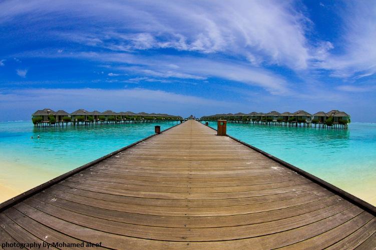 maldivian resort by mode-aleef-77