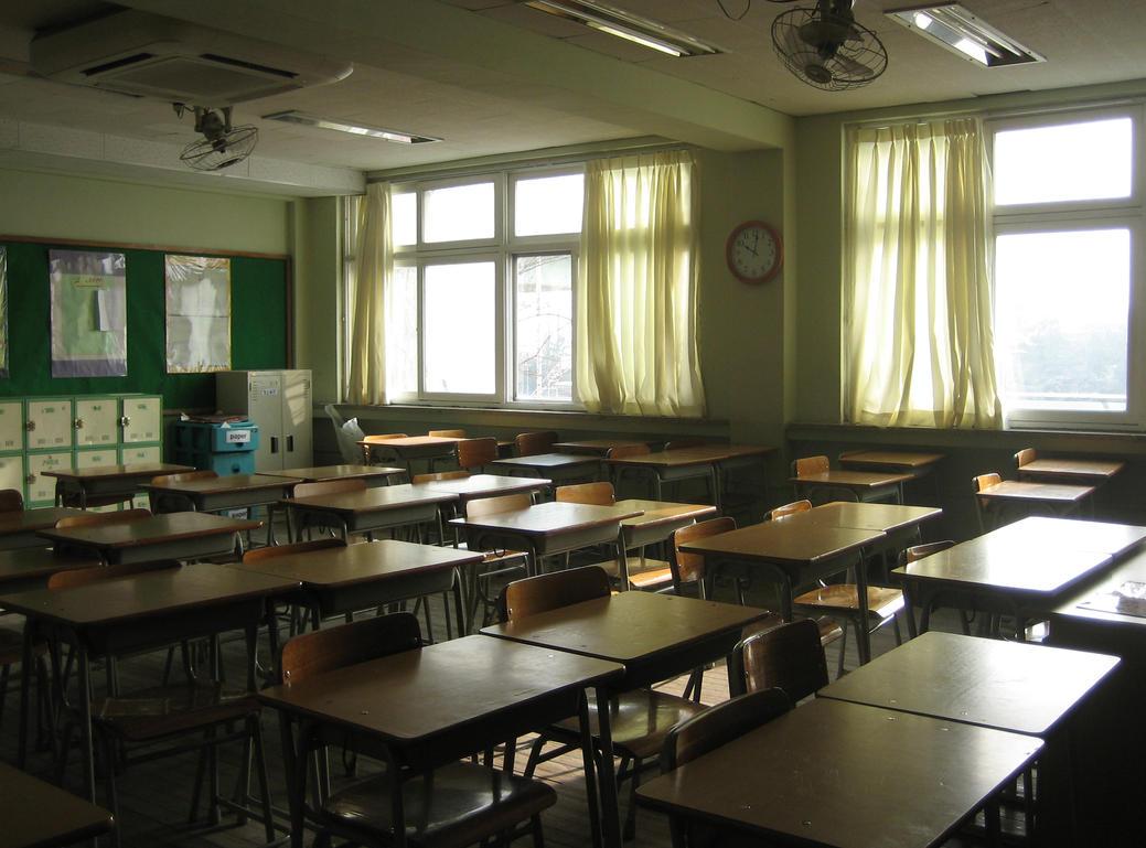 School BG Classroom 1 by TaskedAngelStock
