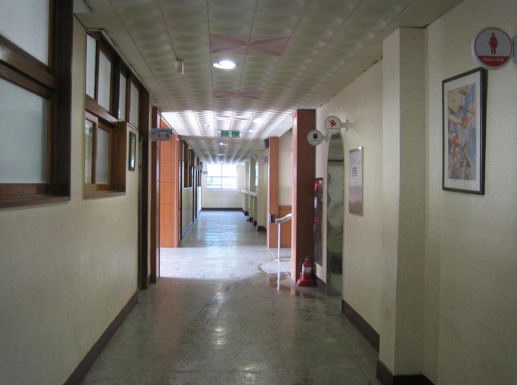 School BG Hallway 1 by TaskedAngelStock