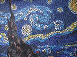 A Starry Night Mosaic