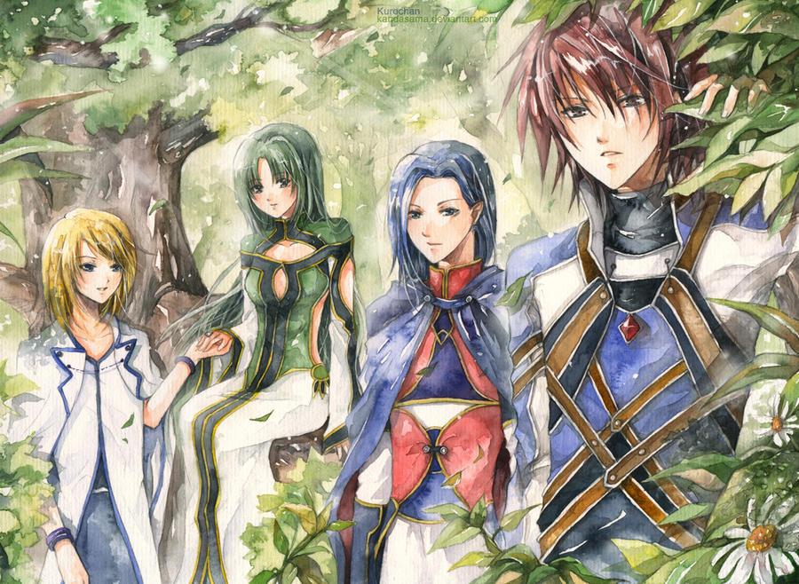 Tales of Symphonia by kandasama