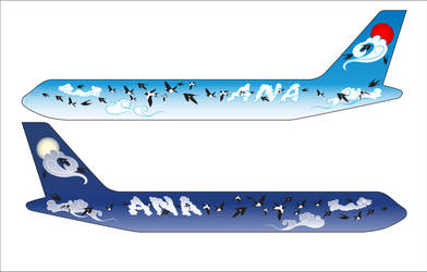 ANA aircraft body design