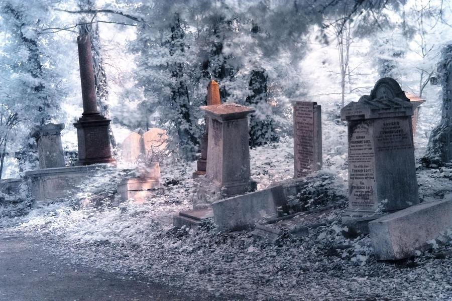 Ethereal Cemetery by Helgajas