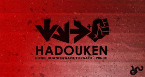 Hadouken by little-boy-dru