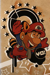 Druper Mario by little-boy-dru