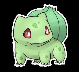 Shiny Bulbasaur by PanLeSpritartist