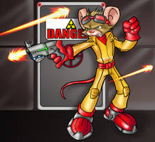 Jake Parkers Missle Mouse by Scarrillo