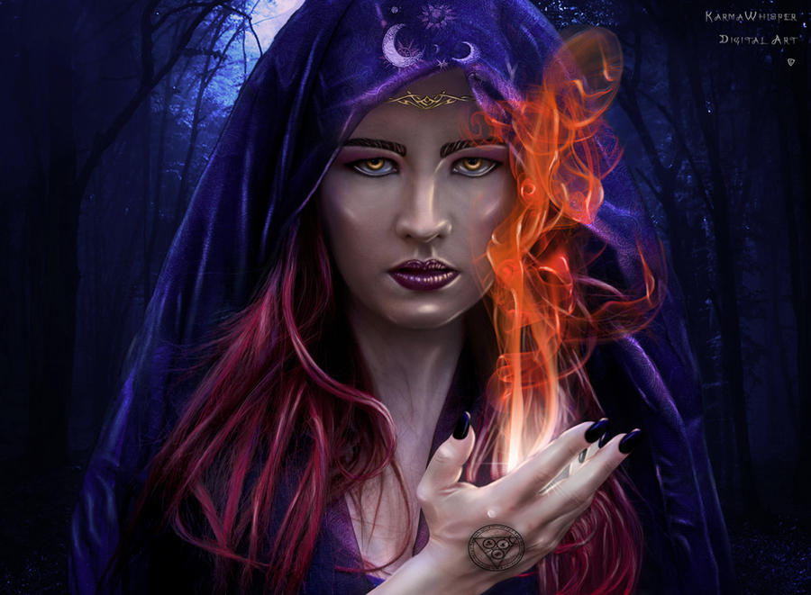 The Sorceress by KarmaWhisper