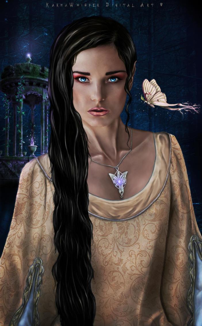 Elven Princess by KarmaWhisper