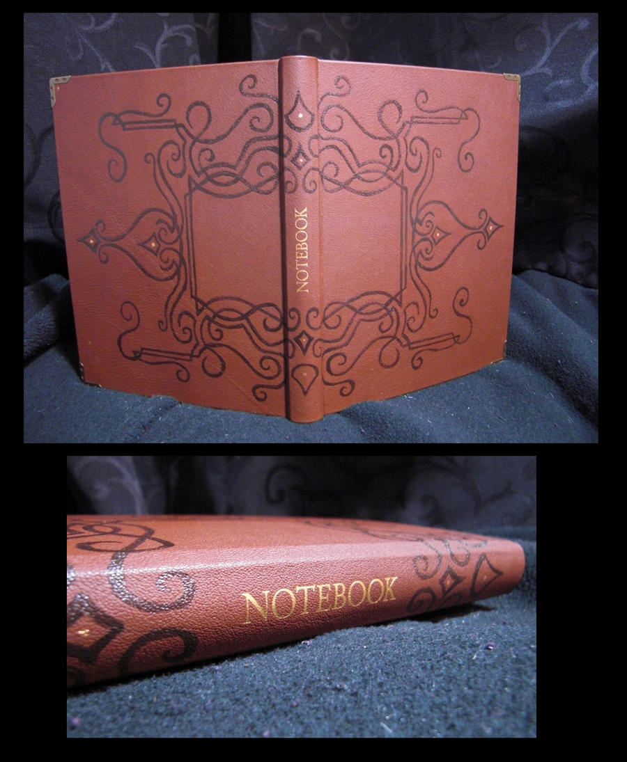 Leather Notebook by Mitsukuni-Sempai