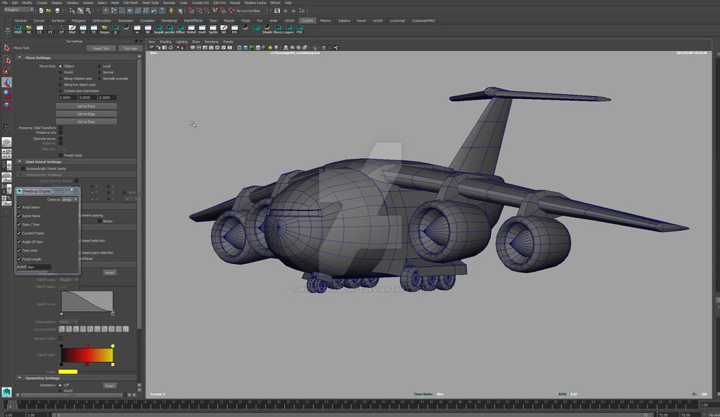 Fat C17 Globemaster by NightShadow02