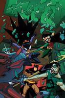 Batman Strikes cover 34 by greenestreet