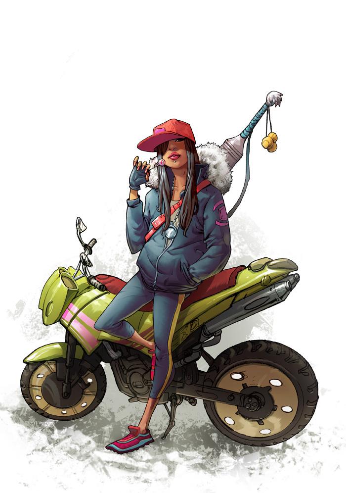 Ride or Die Girl by greenestreet
