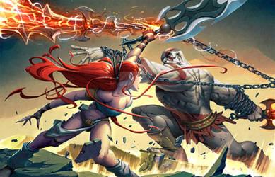 Kratos VS Nariko