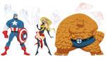 Marvel concept designs